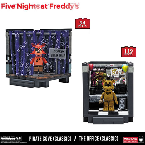 McFarlane Building Sets - Five Nights At Freddy's - Small Set - Classic Series Set